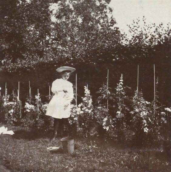 Romanovi i ljubav prema cveću