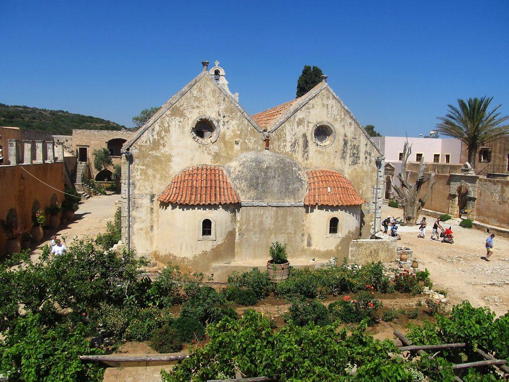 grčka bašte na kritu